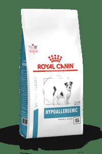 VHN DERMATOLOGY HYPOALLERGENIC SMALL DOG DRY PACKSHOT B1 Med. Res.   Basic
