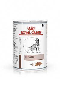 VHN GASTROINTESTINAL HEPATIC DOG LOAF CAN 410GR PACKSHOT High Res.   Print