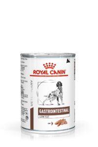 VHN GASTROINTESTINAL LOW FAT DOG LOAF CAN 400GR PACKSHOT High Res.   Print