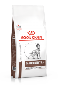 VHN GASTROINTESTINAL MODERATE CALORIE DOG DRY PACKSHOT Med. Res.   Basic