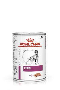 VHN VITAL SUPPORT RENAL DOG WET LOAF CAN 410GR PACKSHOT High Res.   Print F