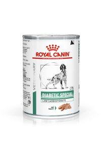 VHN WEIGHT MANAGEMENT DIABETIC SPECIAL LOW CARBOHYDRATE DOG CAN 400G PACKSHOT Med. Res.   Basic