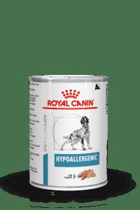 VHN DERMATOLOGY HYPOALLERGENIC DOG WET CAN 400GR PACKSHOT B1 High Res.   Print 1