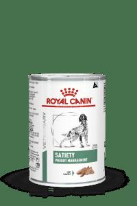 VHN WEIGHT MANAGEMENT SATIETY DOG LOAF CAN 400G PACKSHOT Med. Res.   Basic