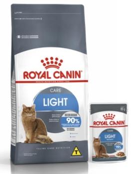 Linha Light para gatos